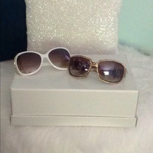 Accessories - 2 pair fun sunglasses